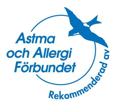 astma och allergiförbundet rekommenderar luftrenare