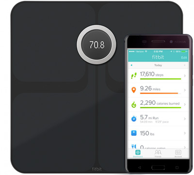 Fitbit Aria 2 Wi-Fi Smart bild 1