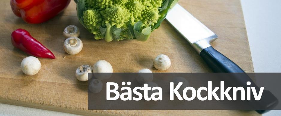 Vi listar endast kockknivar som är testvinnare