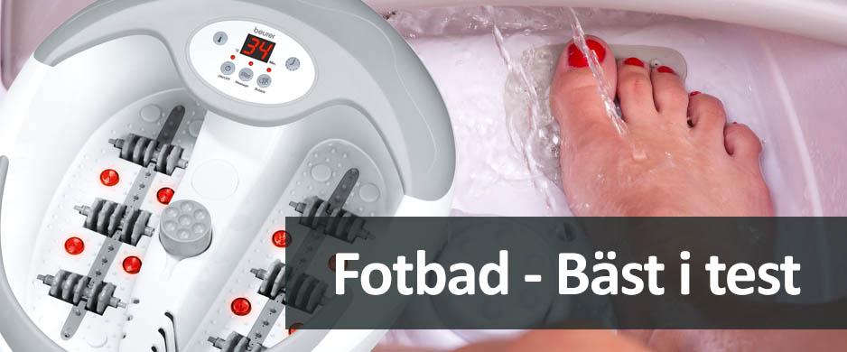 Fotbad Bäst I Test 2019 Ta Hand Om Dina Fötter Med Bubbel Massage