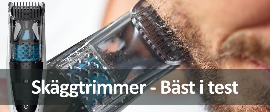 Hitta din framtida skäggtrimmer - Bäst i test