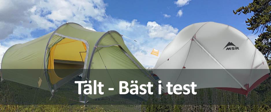 bästa tält för mc resa
