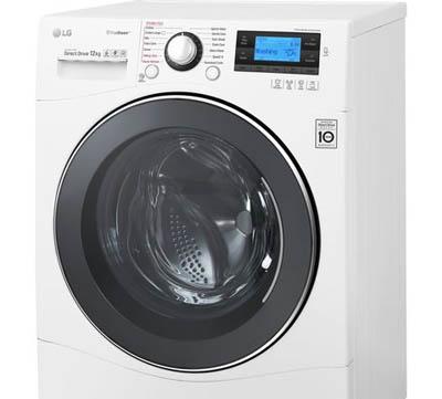LG FH495BDS2 frontmatad tvättmaskin