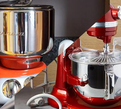 köksmaskiners olika designer
