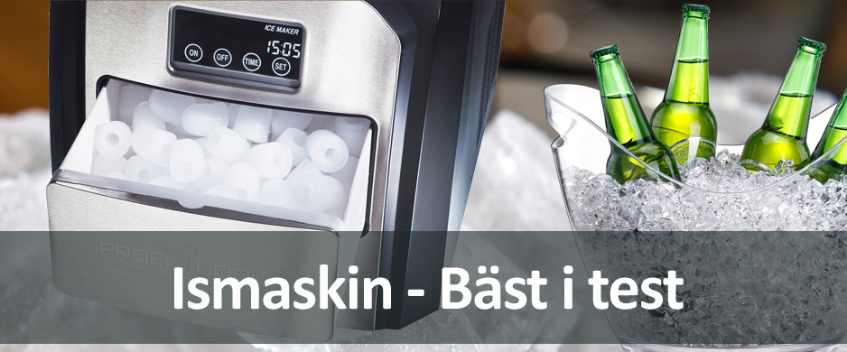 Icke gamla Bästa ismaskinen 2019 - Vilken ismaskin är snabbast? - Bäst i test UW-55