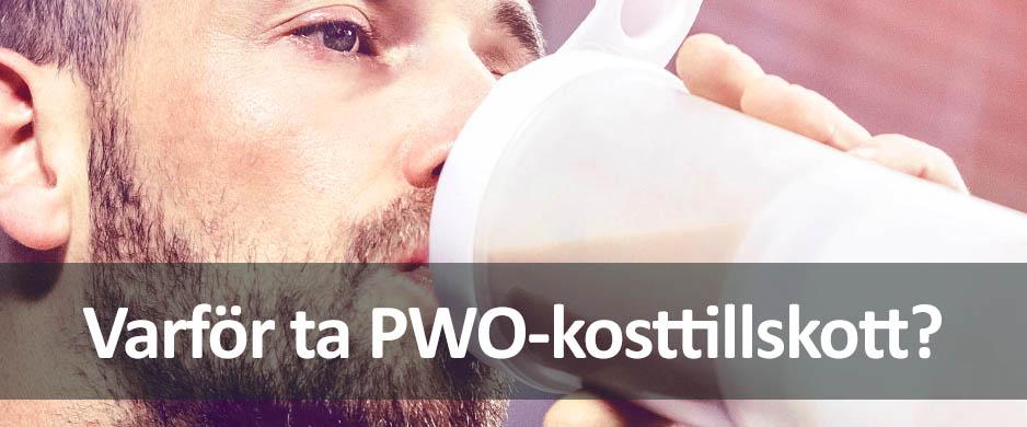 varför är det bra att ta pwo pre-workout?