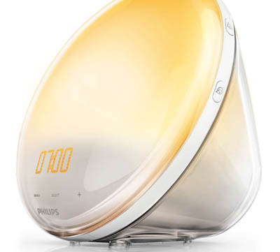 Bäst i test vinnaren Philips Wake-up light 3520
