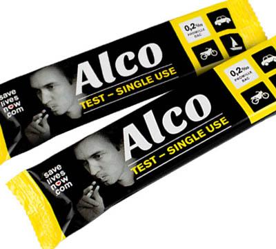 Alco engångs-alkotest bild 1