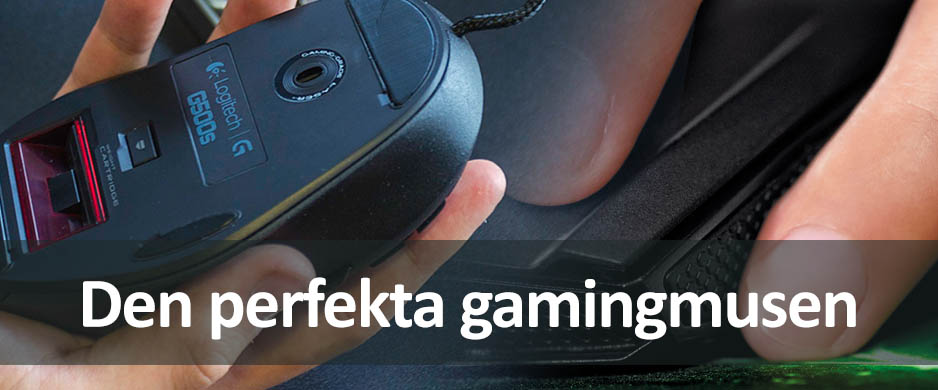 Guide så hittar du den perfekta gamingmusen