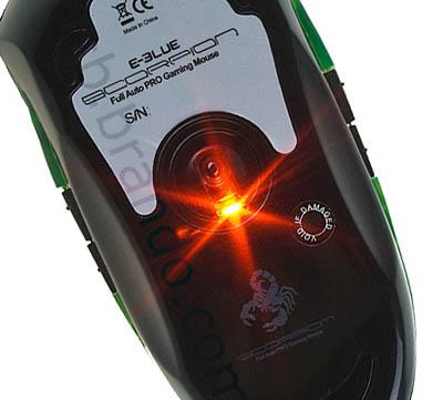 sensor på en mus
