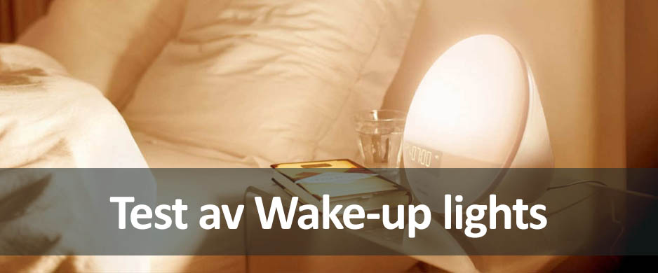 Test av wake-up lampor