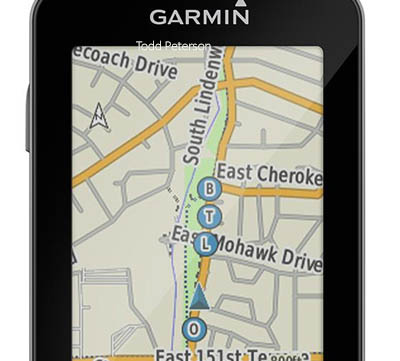 GroupTrack med Garmin