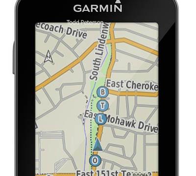 GroupTrack med Garmin