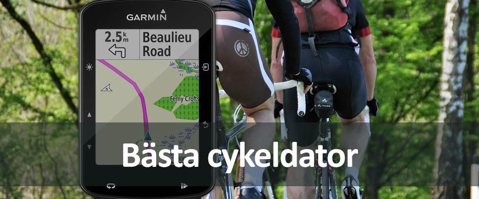 Cykeldator bäst i test