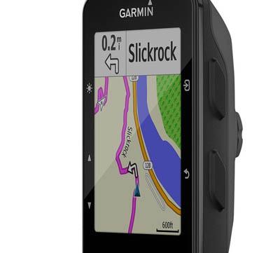 Cykeldator med GPS navigator