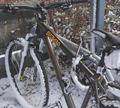 Skötsel av cykelsitsar