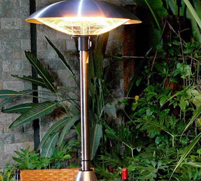 lampa med infravärme