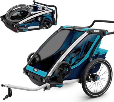 Bästa cykelvagn - Thule Chariot Cross 2