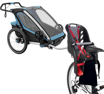 cykelsits eller cykelvagn