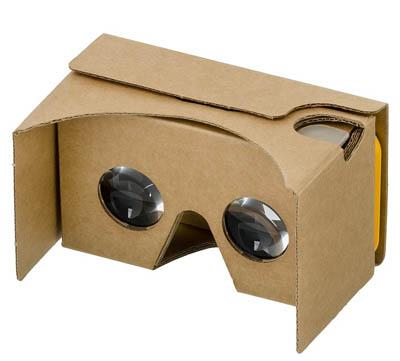 VR för mobiltelefoner med Google Cardboard
