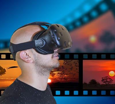 Media för VR-glasögon