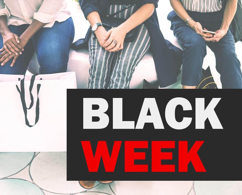 black week erbjudande
