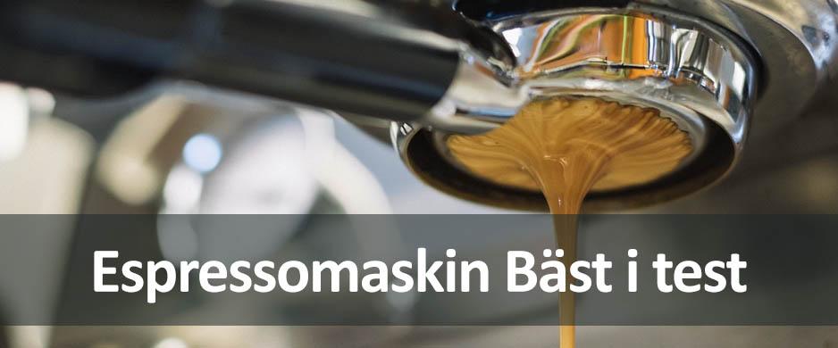 espressomaskin bäst i test