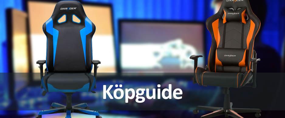 köpguide gamingstolar - välj den bästa stolen för dig