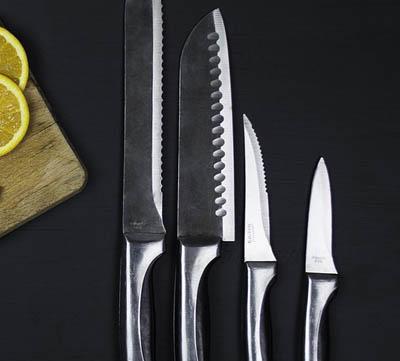 vilka knivar är mest nödvändiga i ett knivset