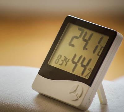 vilken luftfuktighet inomhus är optimal