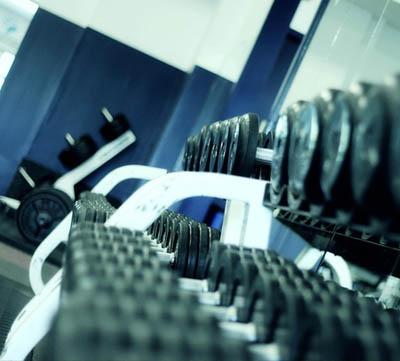 massagepistol innan träningen
