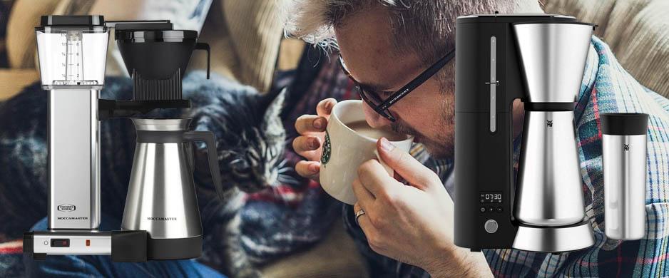 Bästa kaffebryggare med termos