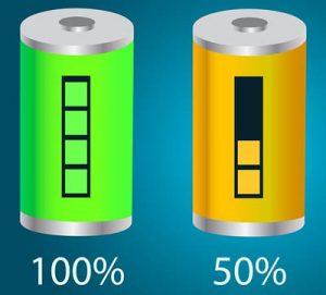 batteridriven massageapparat