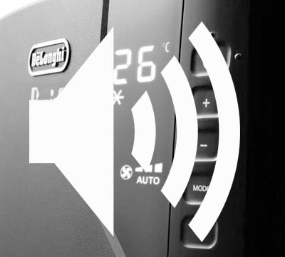 ljudnivå luftkonditionering