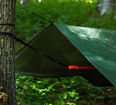 hur sätta upp en tarp
