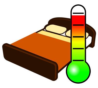 temperatur bäddvärmare