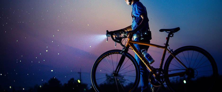 Bästa Cykelbelysning för bra räckvidd & ljusbild