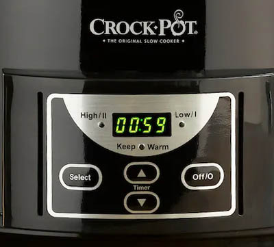 digital slow cooker
